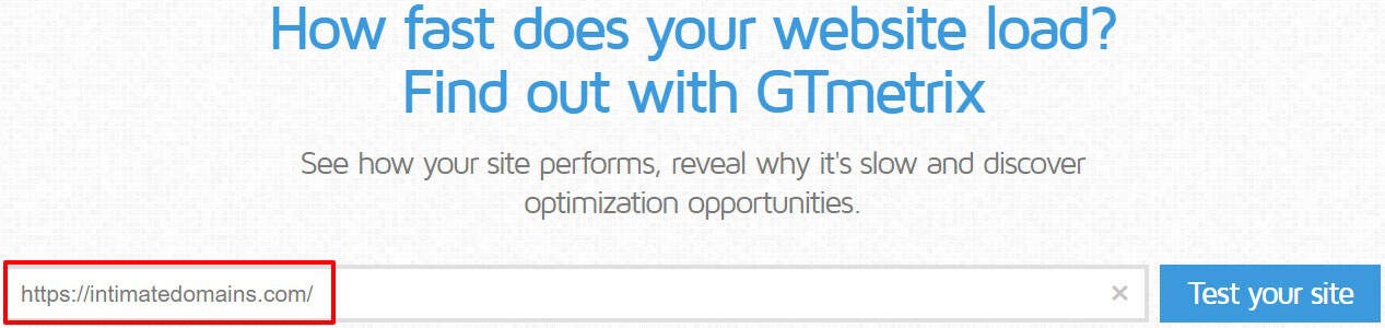 Use GTMetrix To Test Your Websites Speed